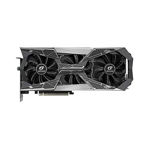 Docooler Kleurrijke iGame GeForce RTX 2080 GDDR6 8G grafische kaarten Super Vulcan X OC GPU inknops-overclock-RGB LCD-monitor 2.0