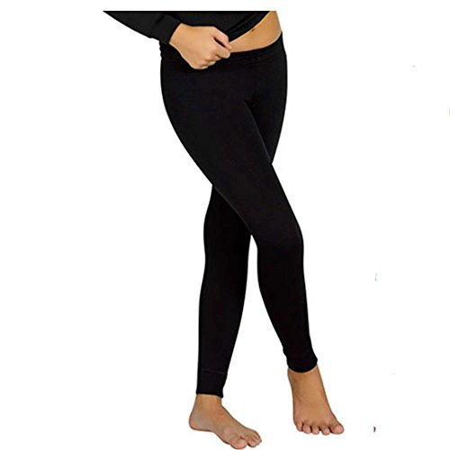 YSABEL MORA - Pantalon Termal NIÑOS niñas Color: Negro Talla: 6