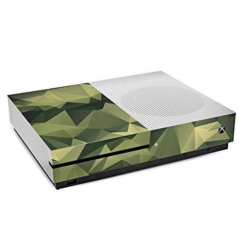 DeinDesign Skin kompatibel mit Microsoft Xbox One S Folie Sticker Camouflage Tarnmuster Bundeswehr