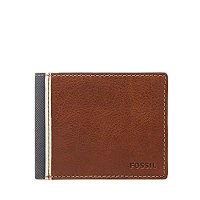 Fossil Men's Elgin Traveler Wallet, Brown, One Size