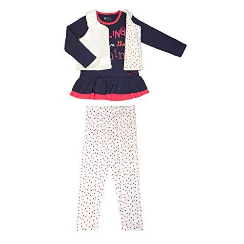 Petit Béguin - Pyjama fille manches longues Rainy day + gilet - Taille - 4/5 ans
