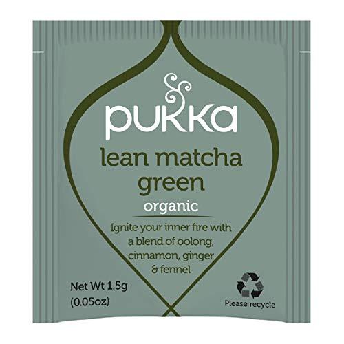 Pukka Herbs Lean Matcha Green Organic Tea 1000 Sachets Box