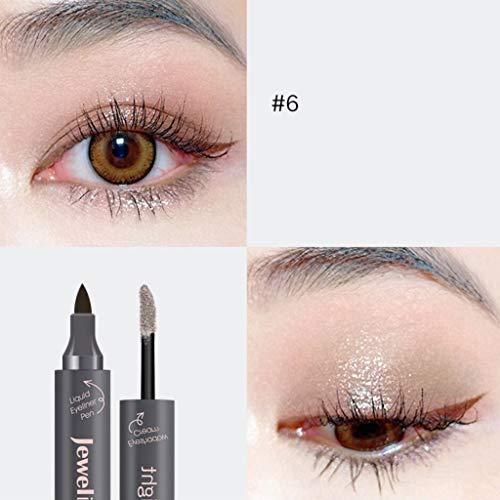 Cwemimifa Augenkonturen-Stift Eucalyptus, Eyeliner Kajal In Grün, Cremige...
