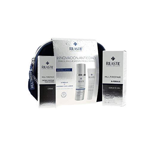 Rilastil S Ferulic Serum Bi Gel 30ml+Multirepair Lip-Eyes Contour Cream 15ml Set 3 Pieces370647