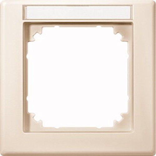 Merten 474144 M-SMART-frame, 1 vak met labelhouder, wit