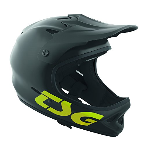 TSG 750829-40-464 Helm, schwarz/gelb