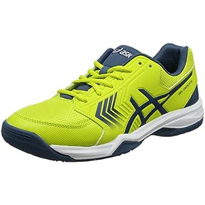 Asics Gel-dedicate 5, Zapatillas de Tenis Hombre, Amarillo (Sulphur Spring/ink Blue/silver 8945), 42.5 EU