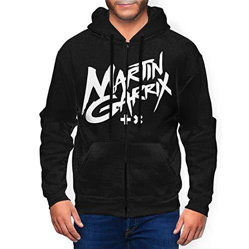 Martin Garrix Hoodie Men's Cool Full Zip Sweatshirts Hoody