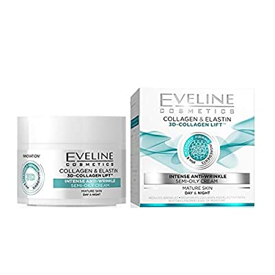 EVELINE 3D COLLAGEN LIFT INTENSE ANTI WRINKLE DAY AND NIGHT CREAM 50ML by Eveline
