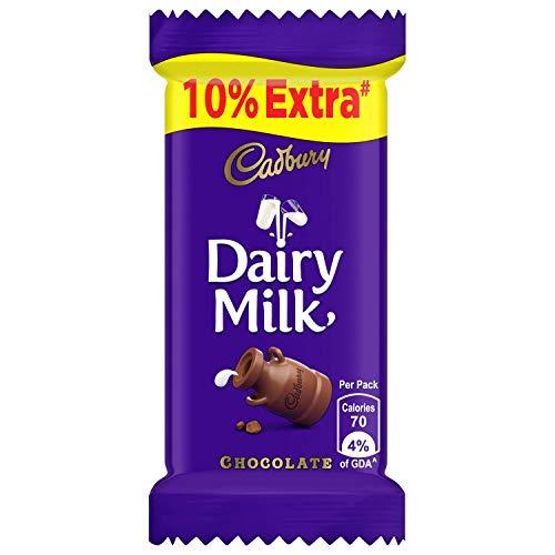Cadbury Dairy Milk Chocolate Bar, 13.2 g