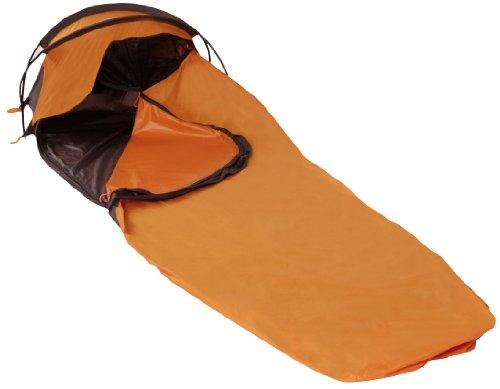 LESTRA Everywhere - Tenda Singola 225 x 80 cm, Colore: Arancione/Nero