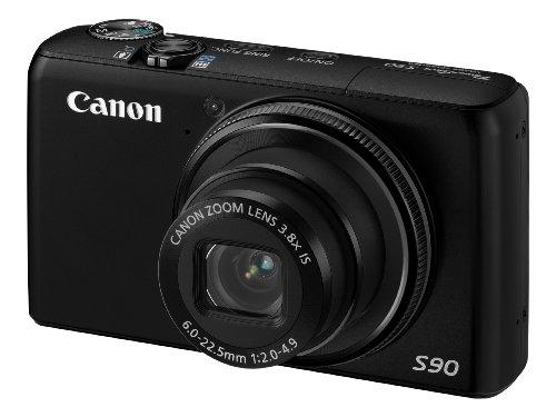 Canon PowerShot S90 - Cámara Digital Compacta