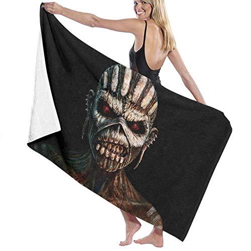 hoist Iron Maiden - Toallas de baño unisex de lujo, toallas de playa suaves para piscina/nadar, toalla de microfibra absorbente y ligera