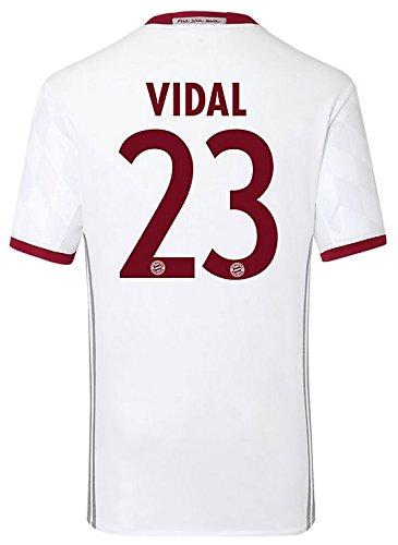 Trikot Adidas FC Bayern München 2016-2017 Champions League (Vidal 23, 176)