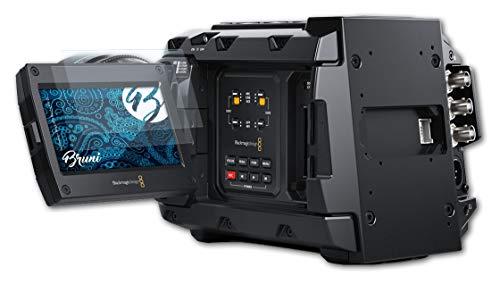 Bruni Schutzfolie kompatibel mit Blackmagic Design URSA Mini Pro 4.6K G2 Folie, glasklare Bildschirmschutzfolie (2X)