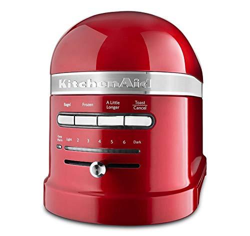 KitchenAid KMT2203CA Toaster - Candy Apple Red Pro Line Toaster (Renewed)