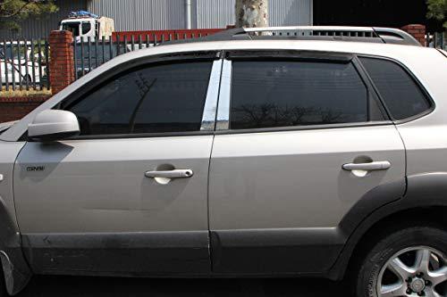 Autoclover Windabweiser-Set für Hyundai Tucson 2004-2010, 4-teilig