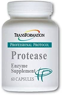 Transformation Enzymes Protease - Supports Healthy Circulation, Digestion, Immunity, and Elimination, Improve Tolerance On An Empty Stomach, 60 Capsules