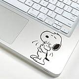 スヌーピー snoopy アートステッカー Macbook/ipad等 トラックパッド対応 PCスキンシール wsb104 [並行輸入品]