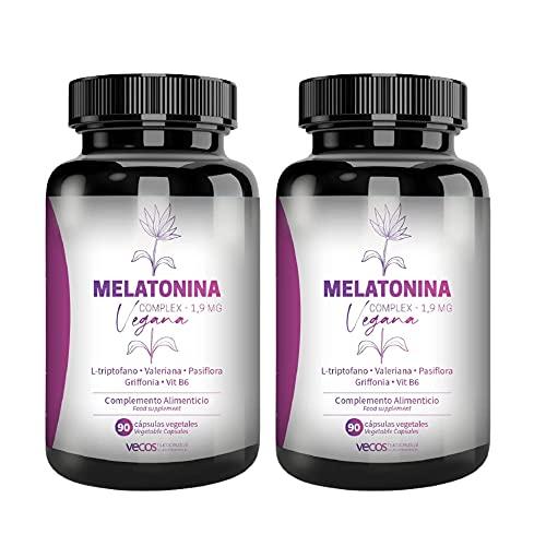 Melatonina Vegana Complex 1,9 mg para...