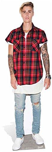 empireposter Justin Bieber - Purpose - Prominente Star VIP - Pappaufsteller Standy - 172 cm