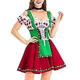 sympuk Bar Sexy Maid Disfraz Disfraces Oktoberfest Baviera Dirndl Cerveza Cerveza Vestido Partido Piedra Traje carefully