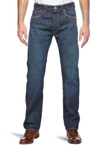 Levi'S 501 Original Straight, Jeans Uomo, Blu (Molded 0011), W32/L32