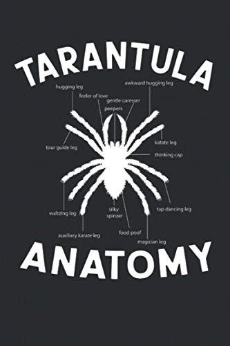 Tarantula Journal: Notizbuch, Terminplaner, Terminkalender, Tagebuch, Notizheft ( 6 x 9 inches) liniertes Papier mit 120 Seiten