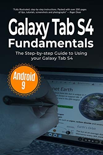 Galaxy Tab S4 Fundamentals: The Step-by-step Guide to Using Galaxy Tab S4 (Computer Fundamentals Book 7) (English Edition)