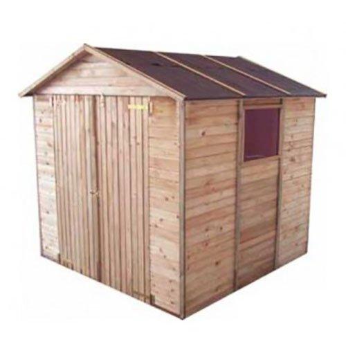 Casetta in legno a pannelli 220 x 213 x 225 cm Mod. Ortisei
