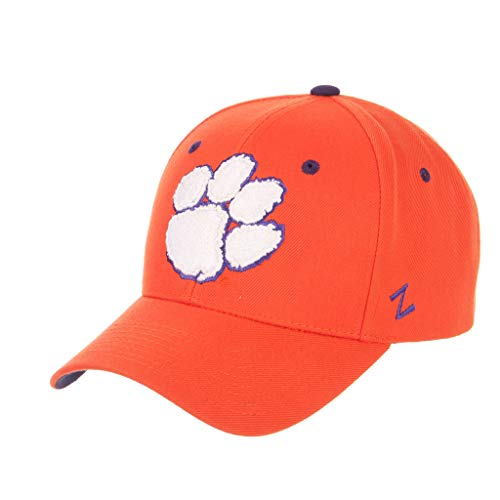 Clemson University Tigers Orange Paw Competitor Top Adult Men/Womens Adjustable Baseball Cap/Hat