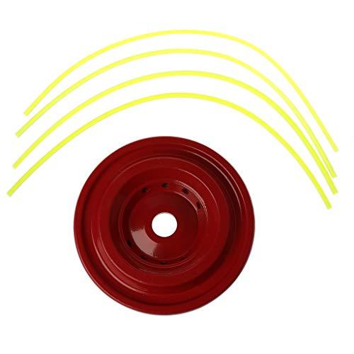 Eliky Gras trimmerkop met 4 kabels cirkelzaag