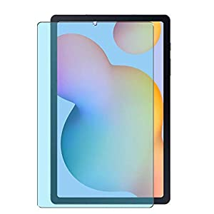 Vaxson Pack of 2 Anti Blue Light Screen Protectors for Samsung Galaxy Tab S6 Lite WiFi SM-P610 / P610X, Screen Protector Bubble-Free TPU Film [Not Tempered Glass] Anti Blue Light
