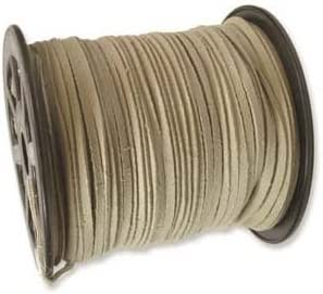 Natural Beige Faux Leather Suede Max 68% OFF Ultra Cord - Microfiber Ultra-Cheap Deals Beading