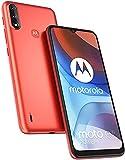 Motorola Moto E7i Power - Smartphone 32GB, 2GB RAM, Dual Sim, Satin Red