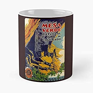 Mesa Verde National Park Colorado Usa - Coffee Mug Best Gift 11 Oz Father Day
