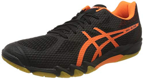ASICS Herren 1071A029-001_44,5 Squash Shoes, Black, 44.5 EU