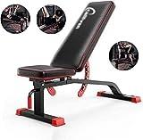 QIYUE Gewicht Einstellbarer Workout Bauch-Übung Multifunktions-Multifunktionsfitnessgeräte Sit-Up Multifunktionale Platte Folding Supine Hantel Gerät
