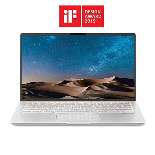"ASUS ZenBook 14 Ultra-Slim Laptop 14"" Full HD NanoEdge Bezel, Intel Core I5-8265U, 8GB RAM, 256GB PCIe SSD, Backlit KB, Numberpad, Windows 10 Pro - UX433FA-XH54, Icicle Silver"