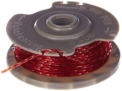 Bobina de hilo de recambio GARDENA: carrete de hilo para desbrozadoras o desbrozadoras turbo n.º de art. 8845 y 8844 (5306-20)
