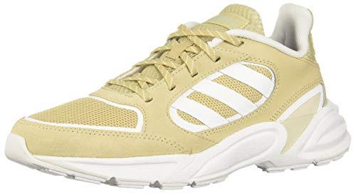 Adidas 90s VALASION, Zapatillas para Correr Mujer, Savannah/FTWR White/Green Tint, 38 2/3 EU