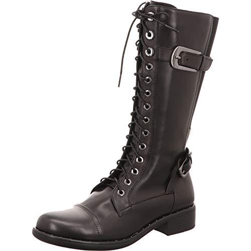 regarde le ciel - Botas de nieve para mujer, color Negro, talla 38 EU