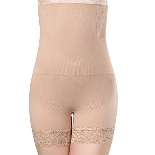 RISTHY Barga Faja Reductora,Calzoncillos Adelgazante Braguitas Sin Costura Pantalón Modelador Bodysuit Cintura Alta Lencería Invisible Push Up Mujer