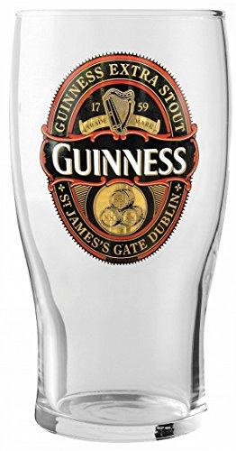 Guinness Gold Label - Vaso de pinta
