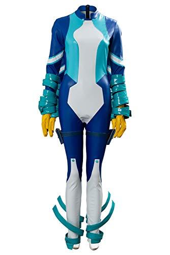 RedJade My Hero Academia Boku no Hero Academia Season 4 Big Three Nejire Hado Suit Traje de Cosplay Disfraz Mujeres XXL