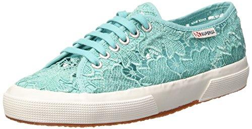 Superga 2750 Macramew, Damen Sneakers, Türkis (Aqua Marine), 39 EU (5.5 UK)