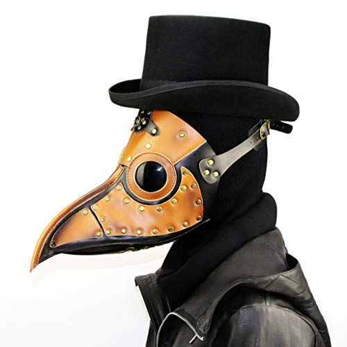 N/O pest Doctor Masker PU Leer, Retro Kraai Vogel Masker Steampunk Halloween Middeleeuwse Carnaval Cosplay Party Props Kostuum