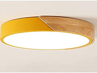 DDCJQ Ceiling Lamp High Temperature Heat Resistance Guongakli Transparent Anti-Corrosion Anti-Rust Color Health Spray Paint Small Living Room Pc (Color : Yellow Tricolor Light)