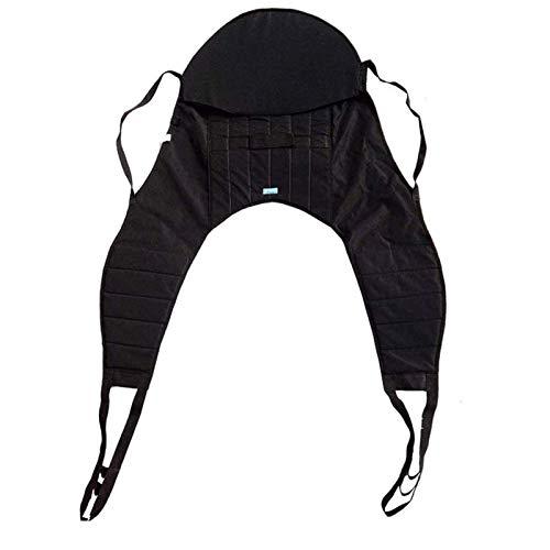 Z-SEAT U-Sling - Universeller Patientenlift-Sling für ältere und behinderte Menschen - Ganzkörper-Patientenlift-Sling mit Kopfstütze - Geteilter Bein-Sling