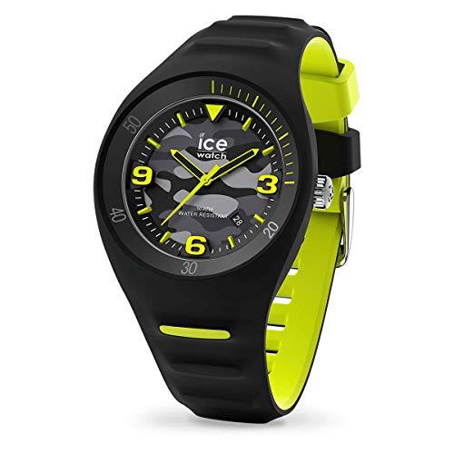 ICE-WATCH P. Leclercq Black Army - Reloj Negro para Hombre con Correa de Silicona, 017597 (Medium)